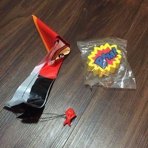 2 Pack Superhero Toys Elastigirl Incredibles Bam